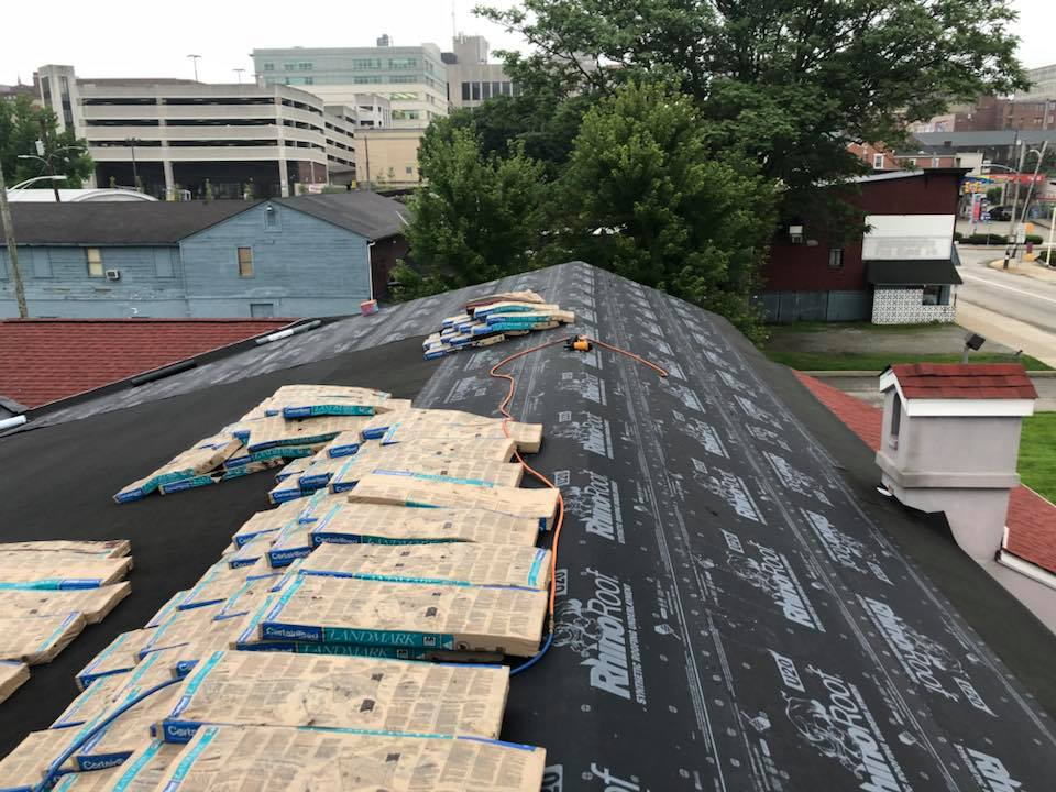 Unique Ink Commercial Roof Replacement Greensburg Pa